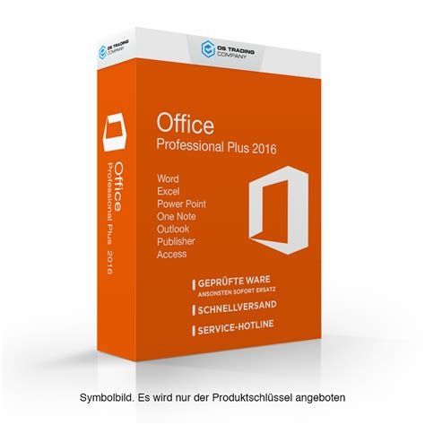 Office Microsoft microsoft office 2016 professional plus im angebot
