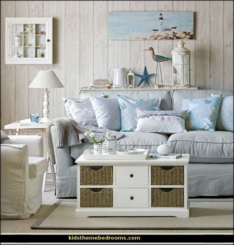 beach themed living rooms decorating theme bedrooms maries manor seaside cottage