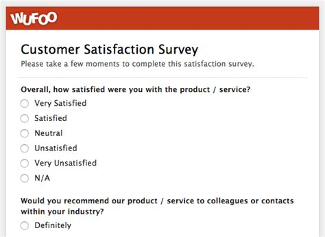 Customer Service Satisfaction Letter Sle Format For Feedback Form 100 Images Evaluation Form