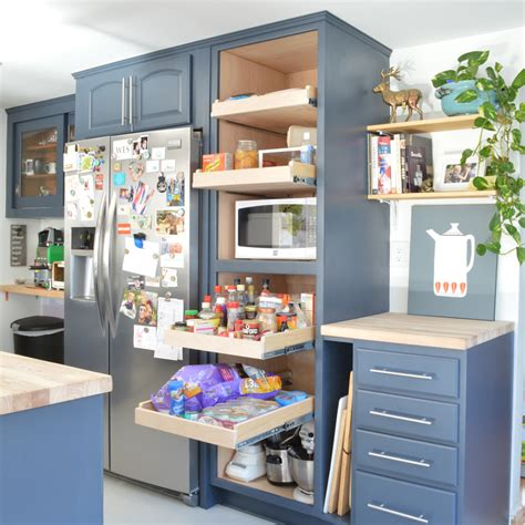 Sliding Shelves Pantry by Sliding Pantry Shelves