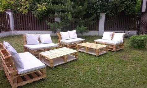 Garden Furniture Ideas Recycled Pallet Garden Furniture Ideas Recycled Things