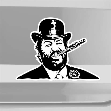 Bud Spencer Aufkleber Auto by Bud Spencer Autoaufkeber Autosticker Aufkleber Sticker