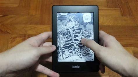 reading manga  comics   kindle paperwhite youtube
