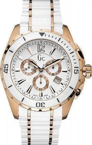 Guess Ceramic Chronograph White guess collection chronograph white ceramic and steel