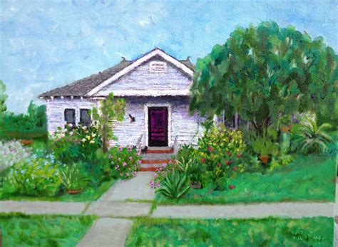 house paintings texas landscape painting crystal s grandma s house