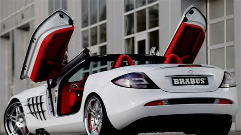 mercedes mclaren red 2008 brabus mercedes benz slr mclaren roadster youtube