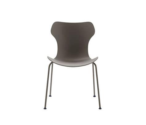 sedie b b papilio shell multipurpose chairs from b b italia