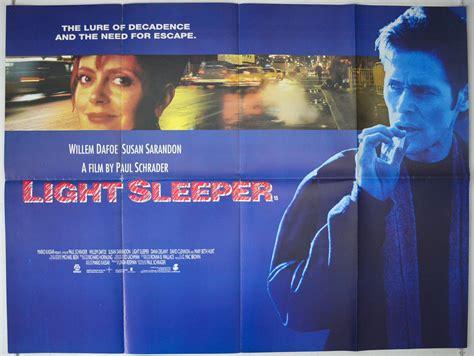 light sleeper 1992 original poster willem