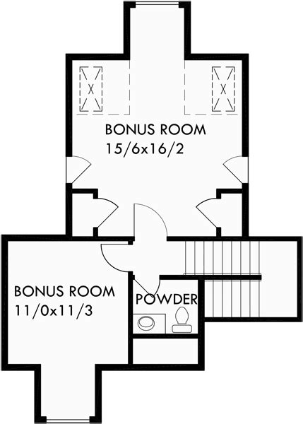 one story house plans with bonus room house plans single level house plans house plans bonus 9933