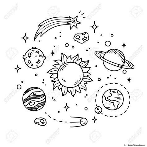 imagenes del universo para imprimir sistema solar para imprimir y colorear jugar pintando