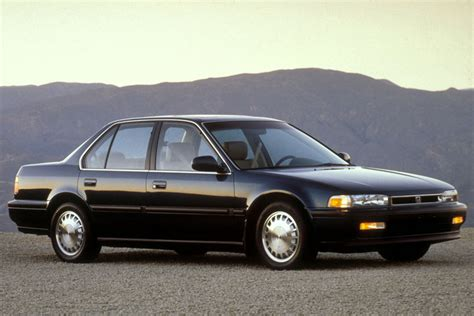 old honda accord 10 cars that defined the 90s