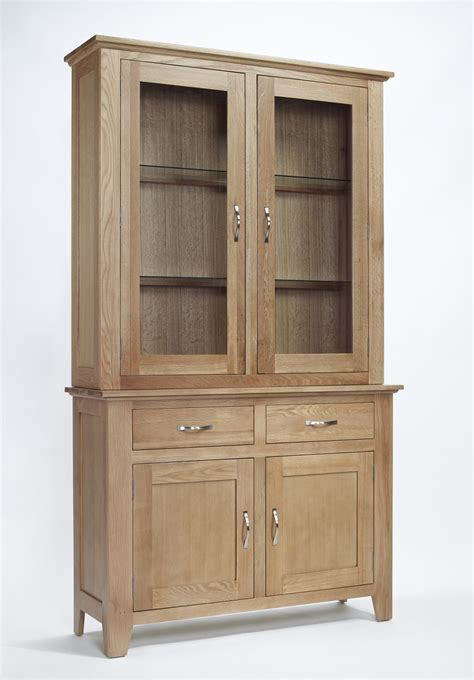dining room display cabinet compton solid oak furniture dining room dresser display