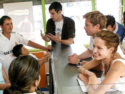 Brad Spend With Refugees by Couples Brad Pitt Appreciation Thread
