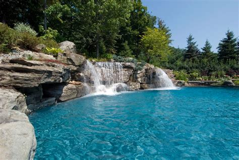 pools with waterfalls swimming pool designs with waterfalls modern home design