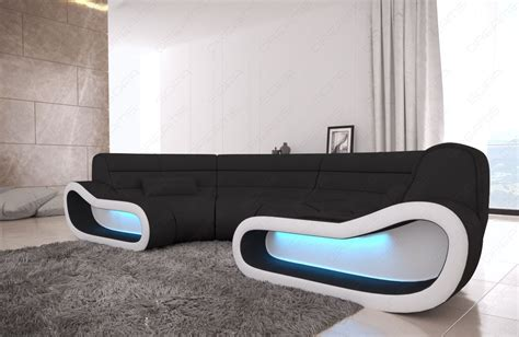 sofa u form günstig modular sectional sofa concept u shape with led lights