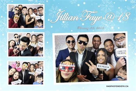 photo booth layout debut rad photo booth gallery gta