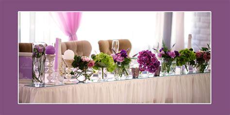 Hochzeit Blumendeko Tisch by Blumendeko F 252 R Lila Hochzeit Tischdeko Tips