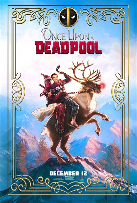 567604 once upon a deadpool ryan reynolds unveils once upon a deadpool poster
