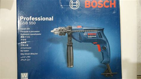 Mesin Bor Bosch 13mm jual mesin bor tembok beton bosch gsb 550 13mm variable