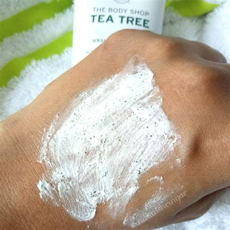 Scrub Tea Tree The Shop the shop tea tree 3 in 1 wash scrub mask review indian shringar