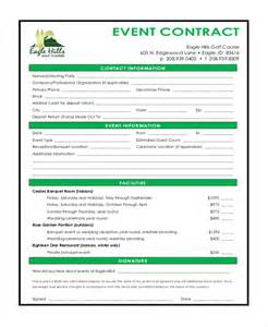 event vendor contract template doc 585550 event vendor contract template sle