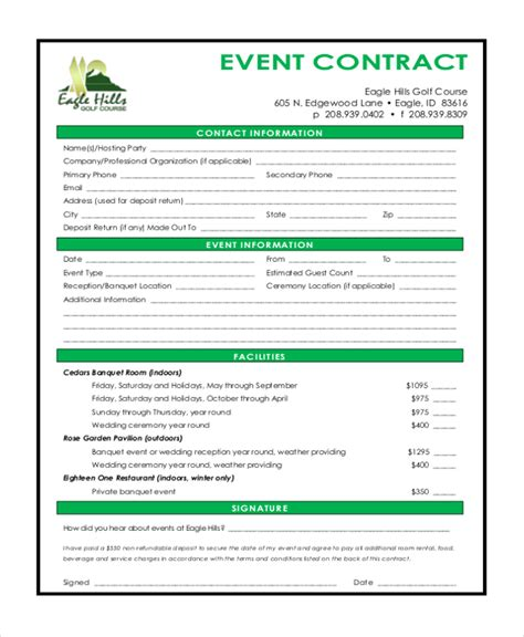 Event Contract by Event Contract Anuvrat Info