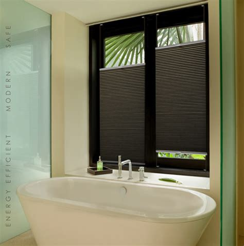 Modern Bathroom Blinds Honeycomb Blinds Modern Bathroom Brisbane By