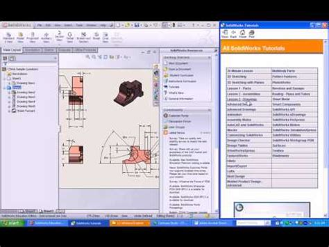 solidworks tutorial cswa solidworks cswa tutorial 2 review exam questions how to