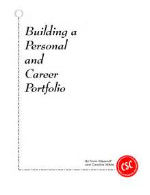 career portfolio template best photos of professional portfolio cover sheet template