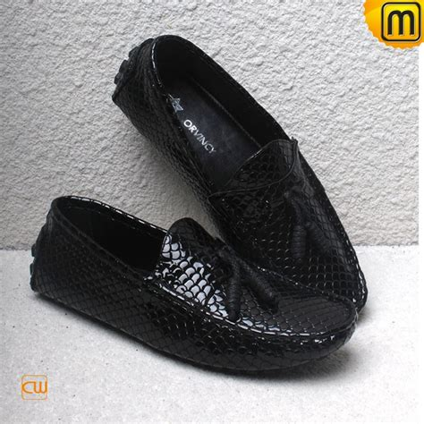mens leather moccasin shoes cw740161