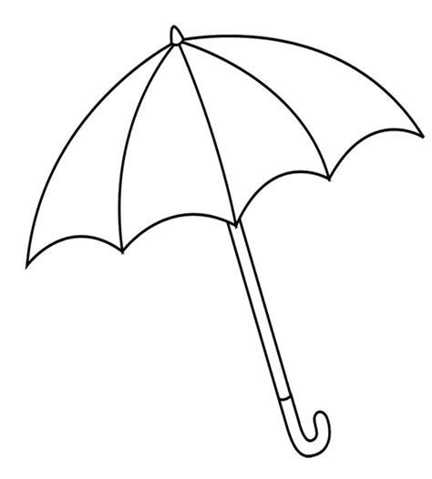 coloring book views umbrella line clipart best