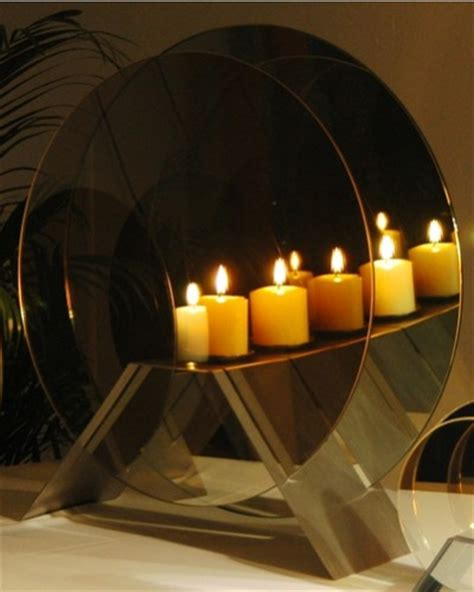 infinity candle mirror infinity circular mirror candle tiger bay gifts