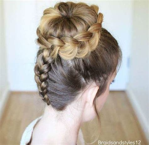updos to minimize head size 45 pretty ideas for casual and formal bun hairstyles