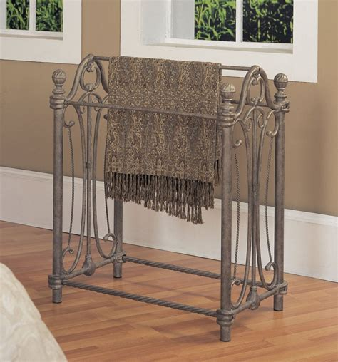 comforter holder rack blanket rack newbury powell furniture betterimprovement com