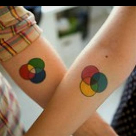 color wheel tattoos pinterest
