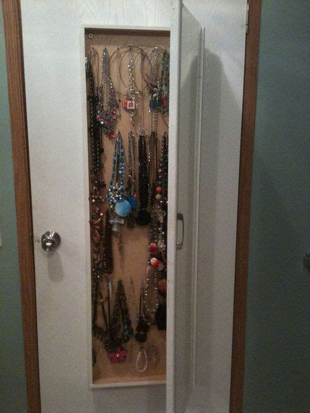 hide away jewelry closet diy for me