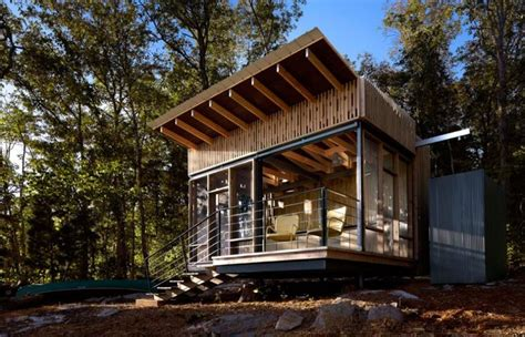 Cabin Retreats Minimod A Prefab Grid House By Mapa Architects