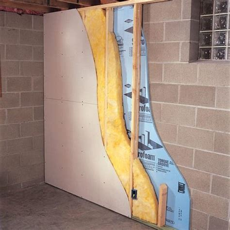 basement how to finish a basement wall insulation