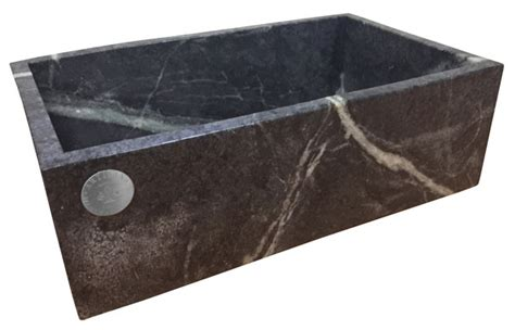 Soapstone Sinks artisan manufacturing handcrafted soapstone kitchen sink model soap 3618