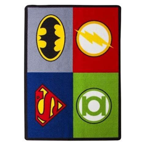 rug league total fab dc marvel comic rugs bedroom ideas
