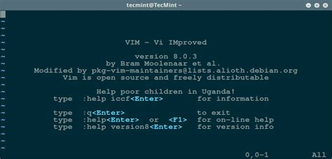 tutorial vim linux my favorite command line editors for linux what s your