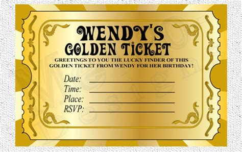 gold ticket template chocolate factory invitations golden ticket invitations