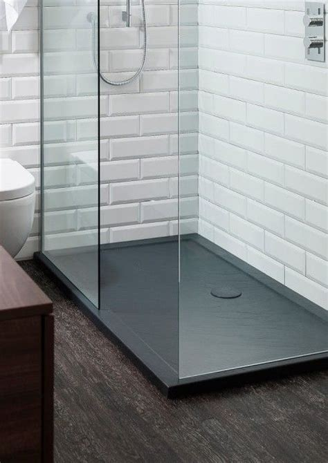 Shower Room Base 35mm Grey Slate Shower Trays In Shower Trays Crosswater