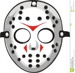 jason mask template jason mask clipart