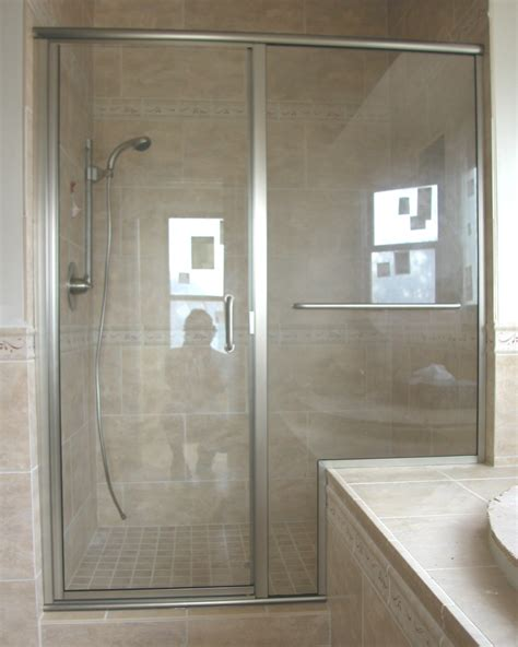 Framelss Shower Doors Semi Frameless Shower Doors Www Imgkid The Image Kid Has It