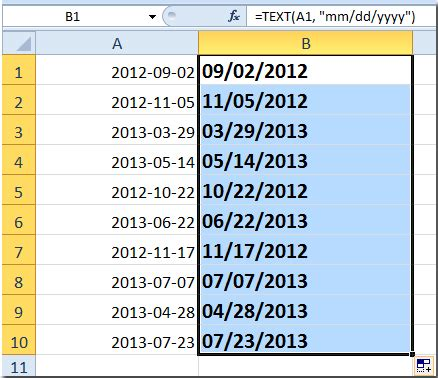 date format how to change american date format in excel