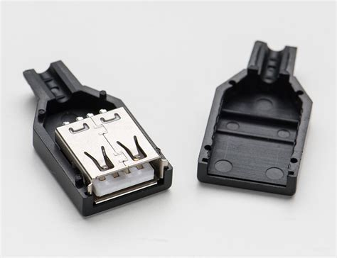 Soket Usb 3 0 Tipe Jantan adafruit usb diy connector shell type a socket 1388