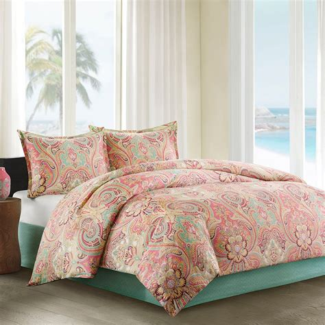 coral bedding coral colored comforter and bedding sets