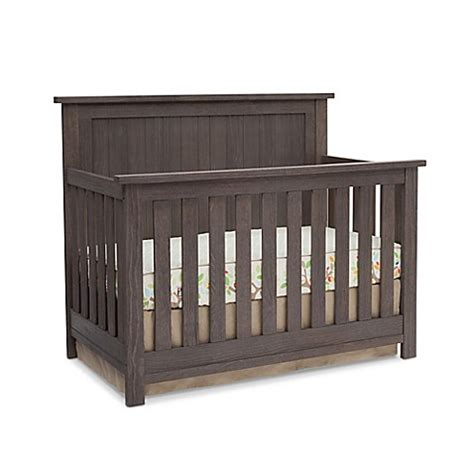 Grey Baby Cribs Serta 174 Northbrook 4 In 1 Convertible Crib In Rustic Grey Www Bedbathandbeyond