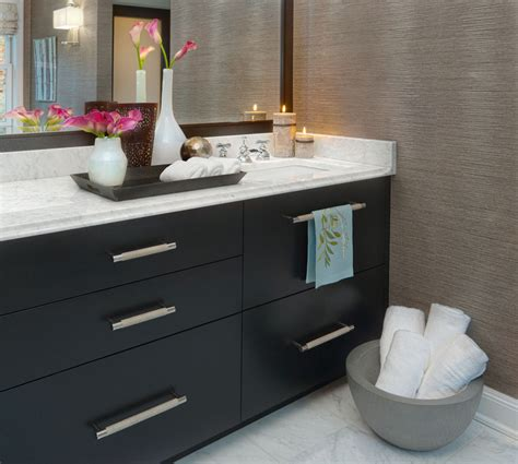 grasscloth bathroom grasscloth wallpaper spaces contemporary with sconce